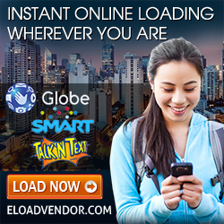 Online eLoad for Globe, Smart